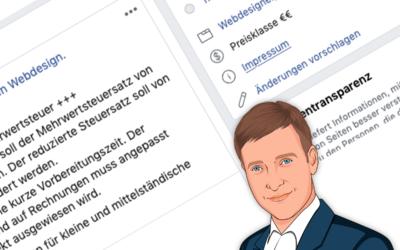 Facebook stellt das Design um: Abmahnrisiko für Betreiber von Facebook-Seiten
